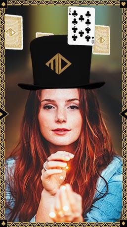 Instagram Filter Magician 3D Hat