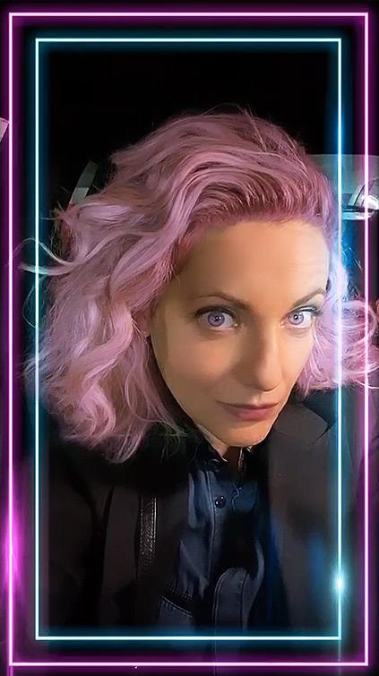 Instagram Filter Hair Color Neon