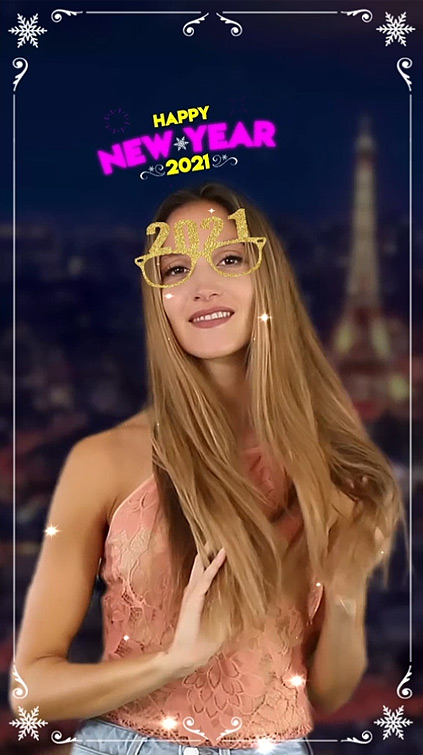 Insta filter New Eve 2021 Augmented Reality