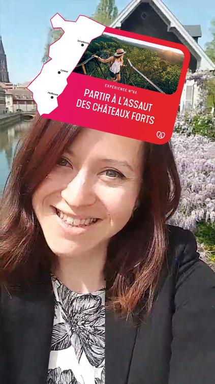 Filtre Instagram Carrousel Région Alsace