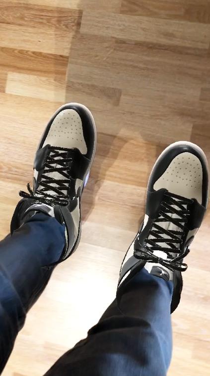 Filtre marqueur AR Snapchat Nike Air Jordan 1