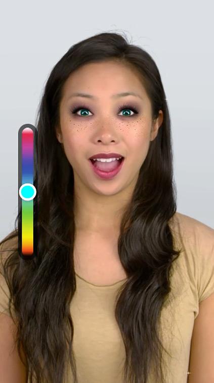 Filtre Makeup Snapchat