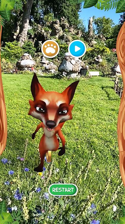 Filtre Snapchat Fox Checkpoint