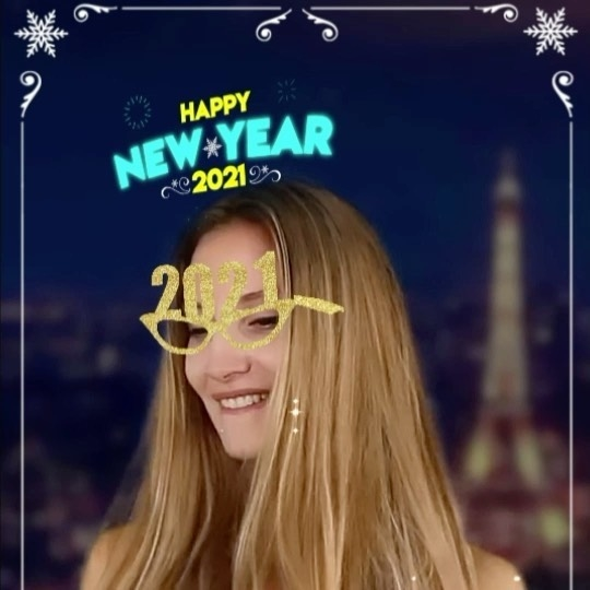 Best wishes with our New Year 2021 available in the filter section of our profile. Souhaitez vos voeux avec notre filtre New Year 2021 :) disponible dans la section filtre de notre profil et si vous êtes beau ou fun on vous re-partagera !!! Enjoy !!! #2021newyear #instagramfilter #2021 #sparkar #augmentedreality #fun #filter #happynewyear2021 #nouvelan #bonneannée