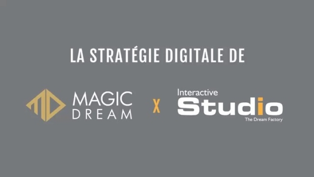 Découvrez en 90s ce que signifie le terme Stratégie Digitale grâce au Study Case Magic Dream @magicdreamparis #stratégiedigitale #magicdream #socialmedia #magie #ecommerce #seo #webdesign #typo #logo #creation #agencedigital #filtreinstagram