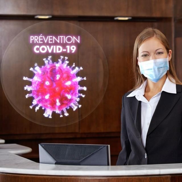 Utilisez les hélices holographiques pour signaler et informer vos visiteurs en toute sécurité au sein de vos établissements. N'hésitez pas à nous contacter pour toutes demandes d'information #préventioncovid19 #hologramme #coronavirus #gestesbarrières #santé @gouvernementfr @mairie17paris